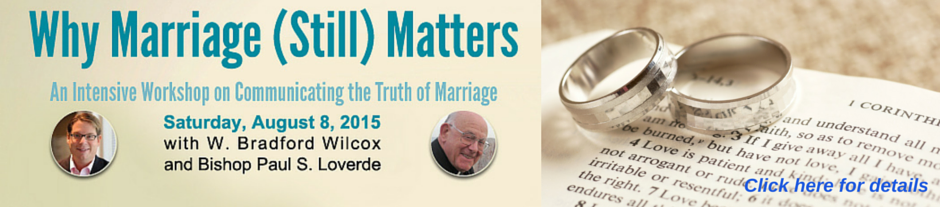 Why Marriage Still Matters